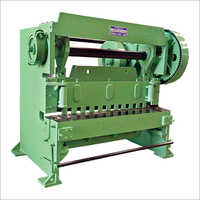 Automatic Over Crank Shearing Machine