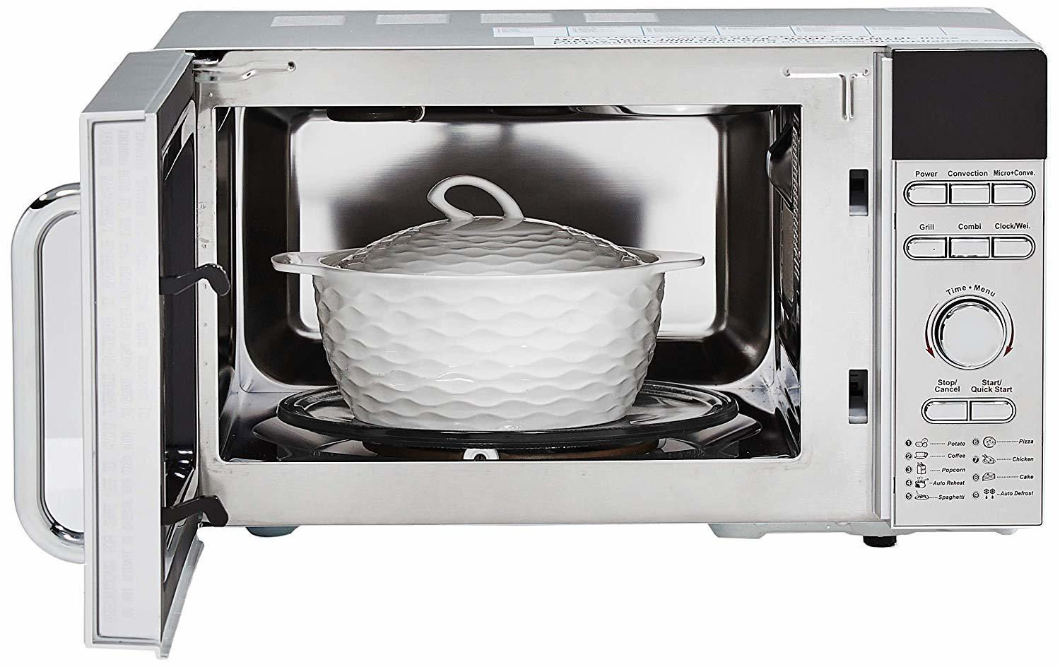 IFB 20 L Convection Microwave Oven (20SC3, Metallic Silver)