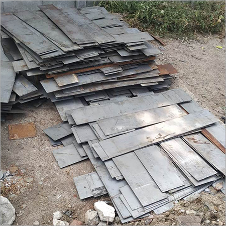 Iron sheet cutting scrap