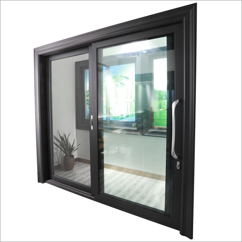 Double Glass Aluminium Window