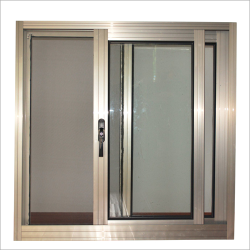 Tempered Glass Aluminium Sliding Window