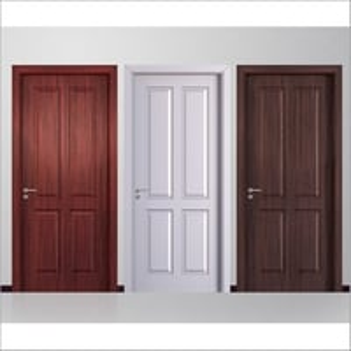 PVC Four Panel Door