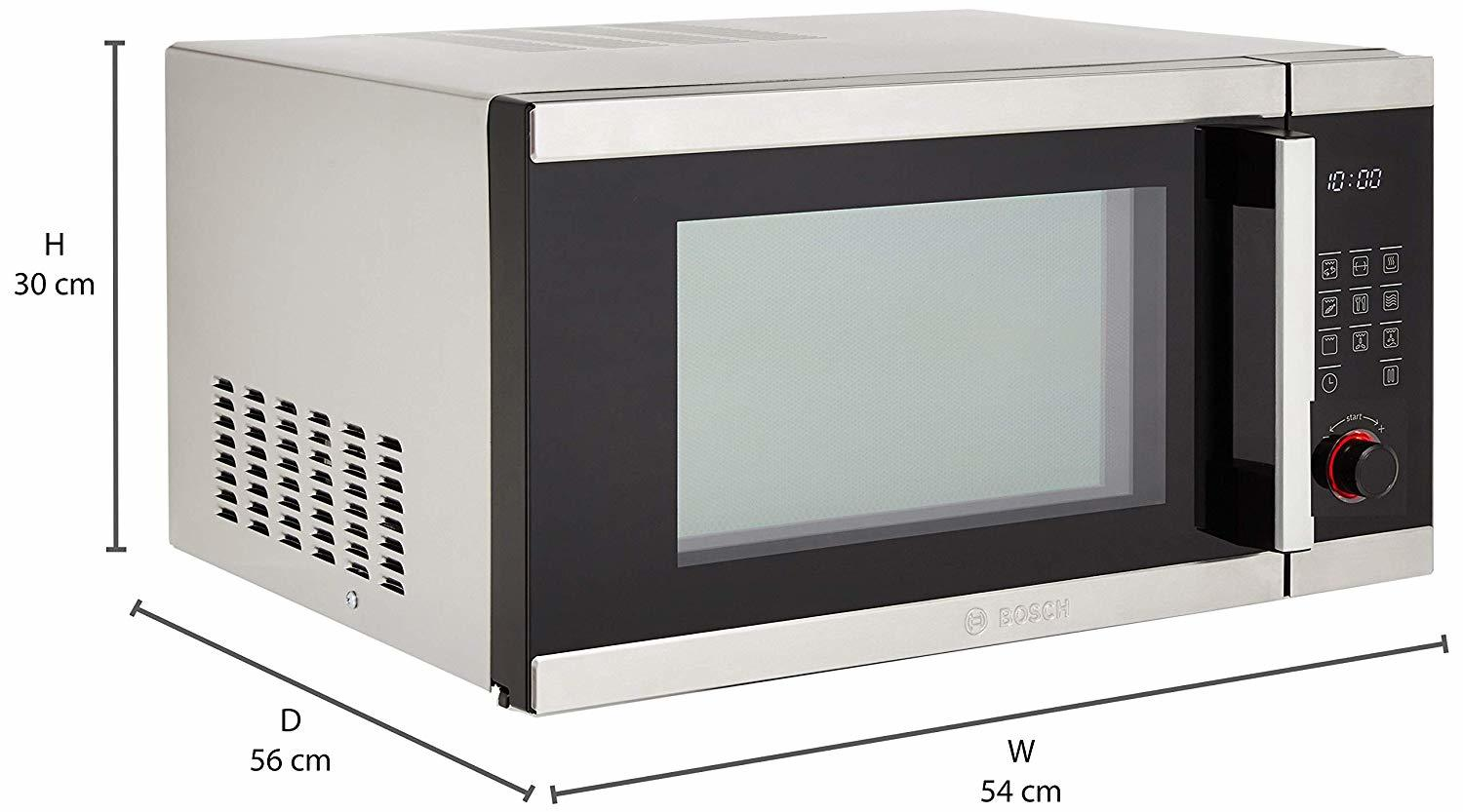 Bosch 32 L Convection Microwave Oven (HMB55C453X, Stainless Steel and Black)