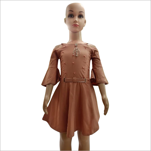 Girls Plain Frock