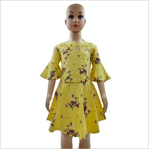 Girls Stylish Frock