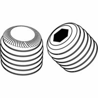 Knurled Cup Point Grub Screw Set