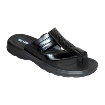 Mens Daily Wear PU Slippers