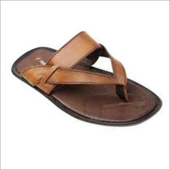 Mens PU Designer Slippers