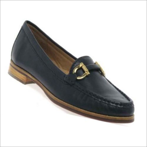 Ladies Buckle Strap Loafers