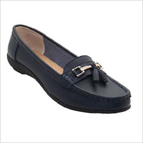 Ladies Black Loafers