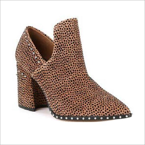 Ladies Heel Ankle Boots