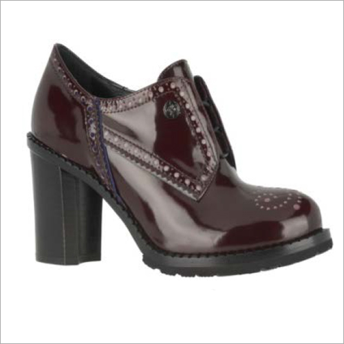 Ladies Dark Brown Ankle Boots