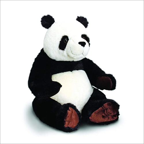 Sitting Black And White Panda Soft Toy