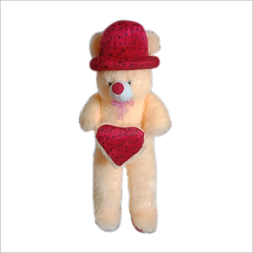 Standing Love Teddy With Heart