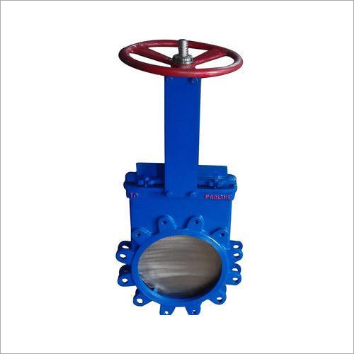 Manual Operated Knife Edge Gate Valve