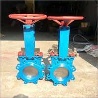 Hand Lever Knife Gate Valve