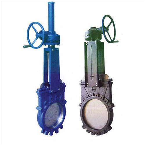 Carbon Steel Motorised Knife Gate Valve
