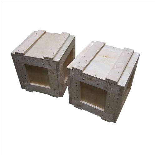 Industrial Wooden Cargo Box