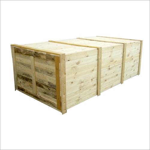 Wood Cargo Box
