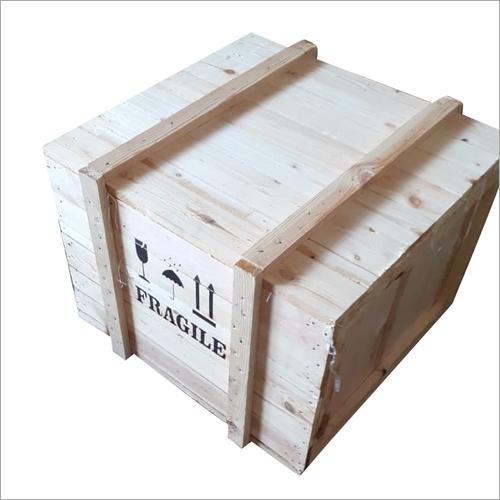 Industrial Wooden Box