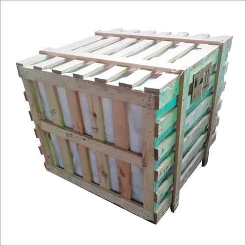 Wooden Shipping Crate Box