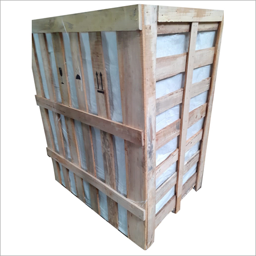 Wooden Cargo Crate Box