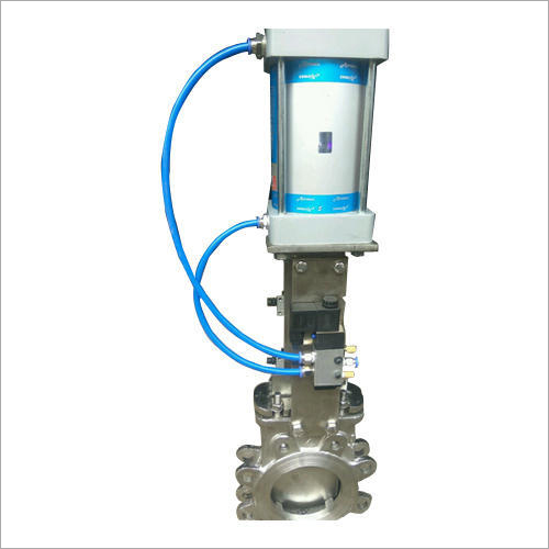 Polished Electric Knife Gate Valve