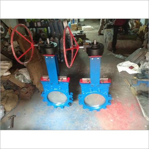 Gear Operated Knife Gate Valve