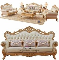 handcrafted sofa set