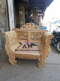 hand carved sofa set