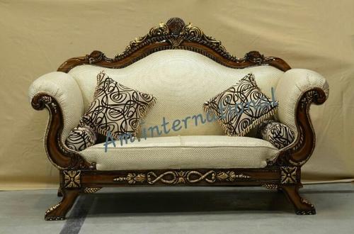 royal carved wooden sofa set
