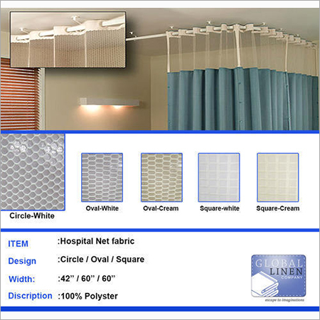 Hospital Net Curtain Fabric