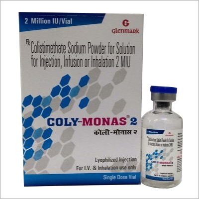 Colistimethate Sodium Powder For Solution For Injection, Infusion Or Inhalation 2 MIU