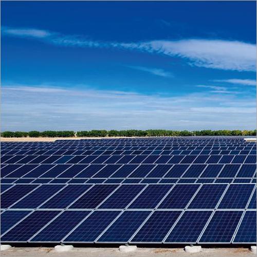 MW Size Solar Power Plant System
