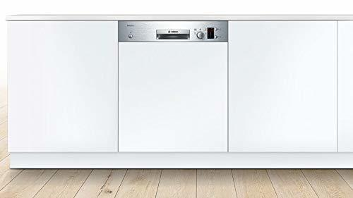 Bosch Serie 2 60 cm Stainless Steel 12 Place Setting Semi Intergarted Built in Dishwasher SMI25AS00E