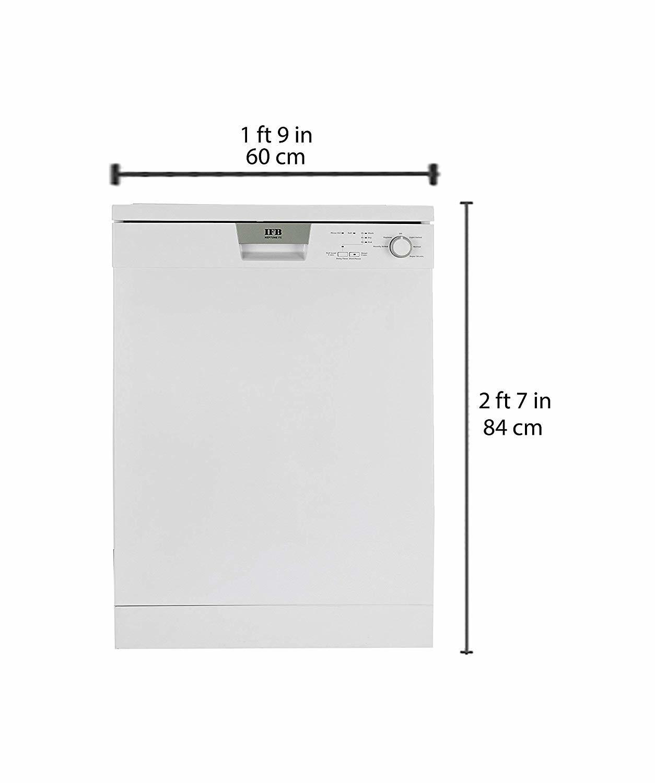 IFB Neptune FX Fully Electronic Dishwasher (12 Place Settings, White)