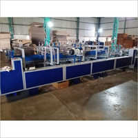 Corrugated Box Lock Bottom Pasting  Machine
