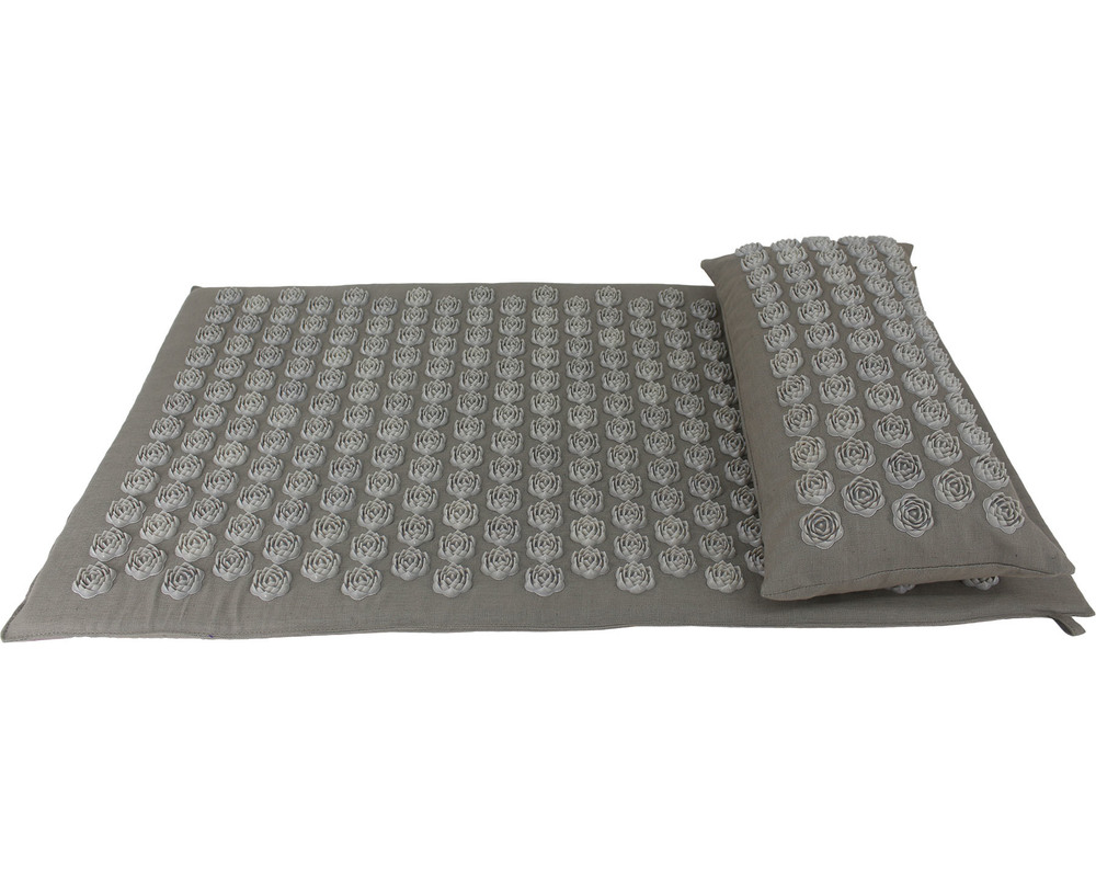 Lotus Disc Spike Mat And Pillow Set