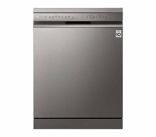 LG 14 Place Settings Dishwasher (DFB424FP, Platinum Silver)