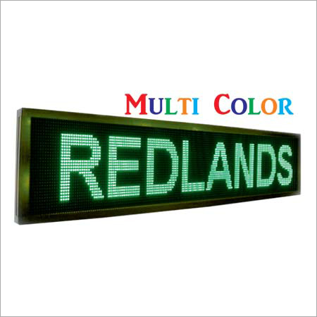 Multi Colour Moving Display