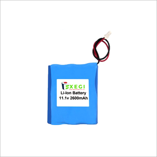 11.1v 2600mAh Li-ion Battery Pack