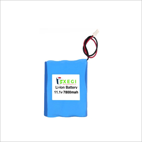 11.1v 7800mAh Li-ion Battery Pack