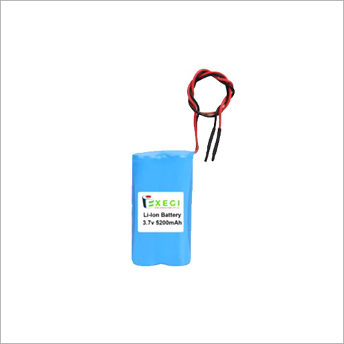 3.7v 5200mAh Li-ion Battery Pack