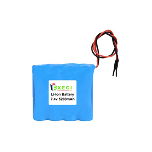 7.4V 5200mAh Li-ion Battery Pack