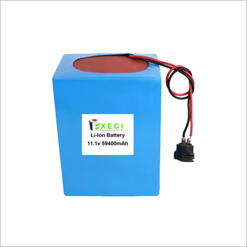 11.1v 59400mAh Li-ion Battery Pack