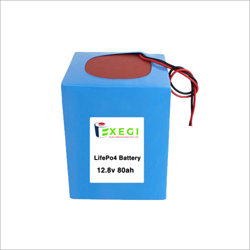 12.8v 80Ah LiFePO4 Battery Pack