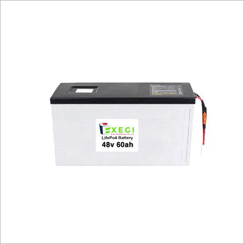 48v 60000mAh LiFePO4 Battery Pack