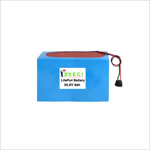25.6v 9000mAh LiFePO4 Battery Pack