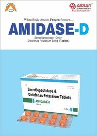 Diclofenac Potassium 50mg + Serratiopeptidase10mg Tablet
