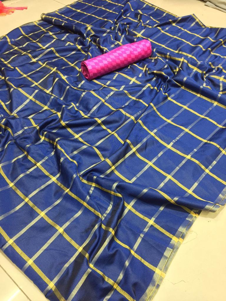 Fancy Cotton Silk Saree